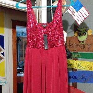 Women's Apt 9 red party dress size medium